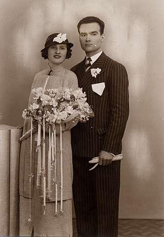 es van casar dos dels germans del meu pare la Fina i el Joan