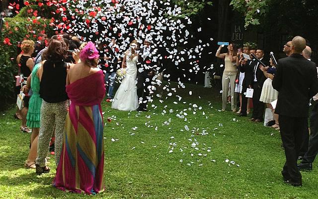 el josep (el germa del meu pare) es va casar