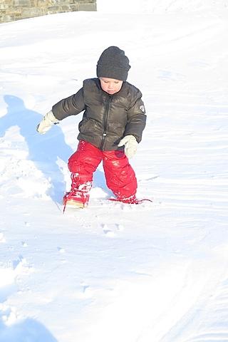 el primer cop que va veure la neu