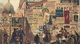 Французская журналистика XIX века timeline