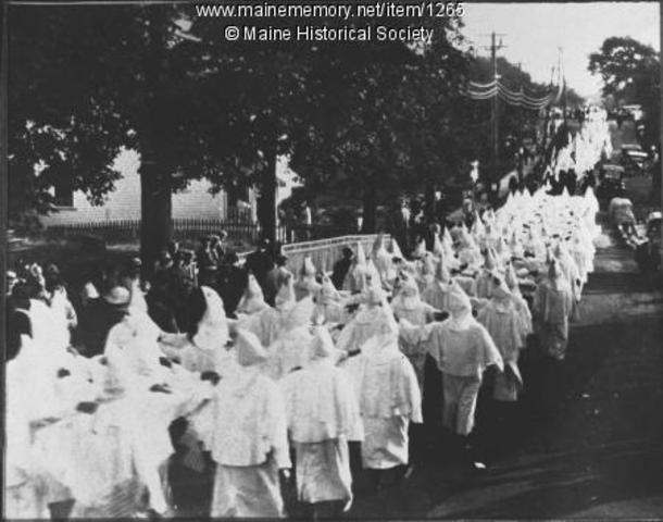 Ku Klux Klan founded