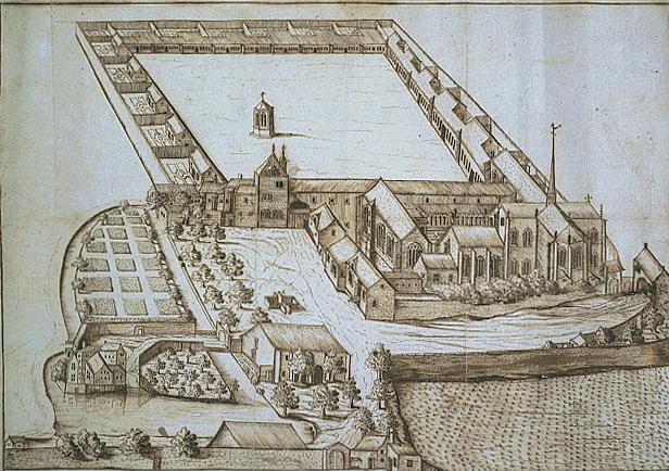 Cartuja de Champmol/Chartreuse de la Sainte-Trinité de Champmol.
