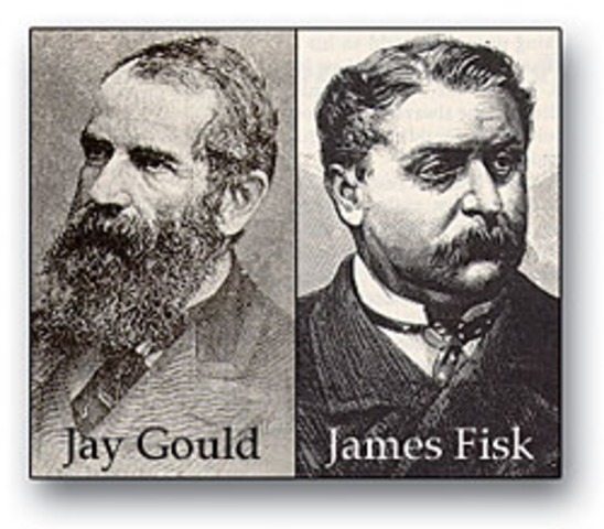 Fisk and Gould Scam the Gold Market
