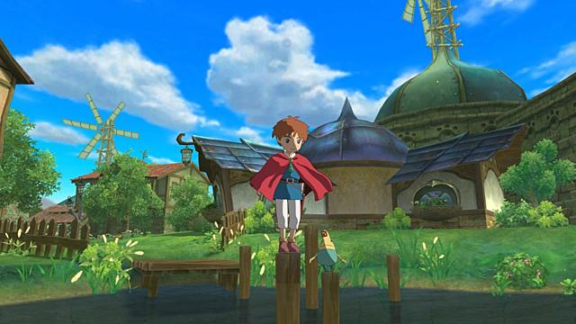 Участие студии Гибли в разработке игры