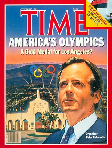 Olympics became commercialized