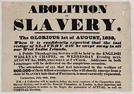England Abolishes Slavery