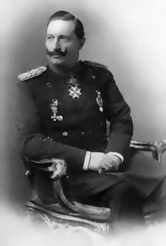 Austria was promised support from Germans by Kaiser William 11 against Serbia.