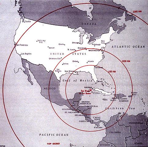 La crisis de los misiles de Cuba.