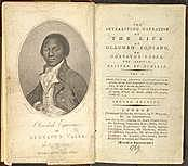 """""""The Interesting Narrative of the Life of Olaudah Equiano"""""""