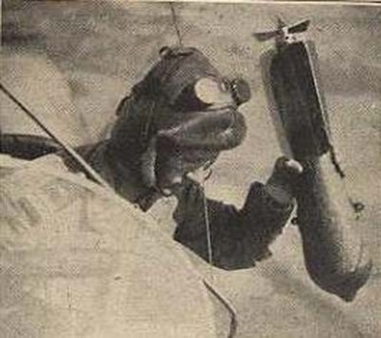 First Bombs Dropped In War From Flight