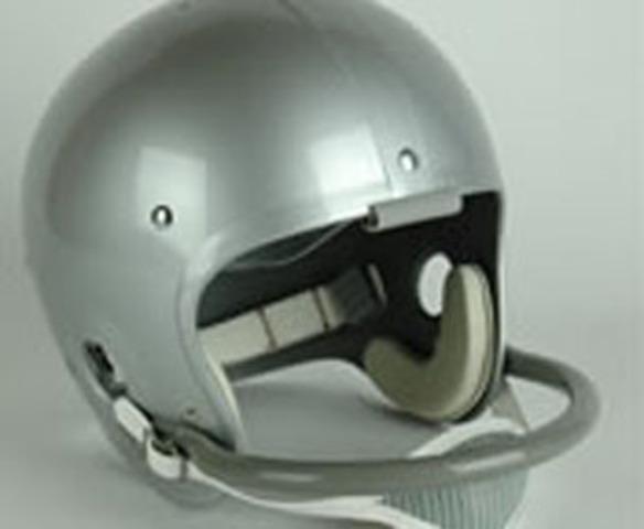 The first helmet