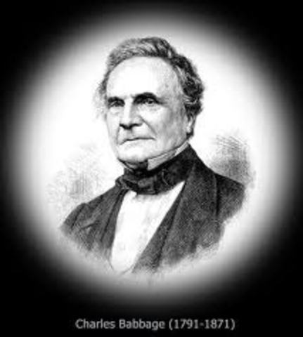 """Charles Babbage en su libro titulado """"On the economy of machinery andmanufactures"""""""