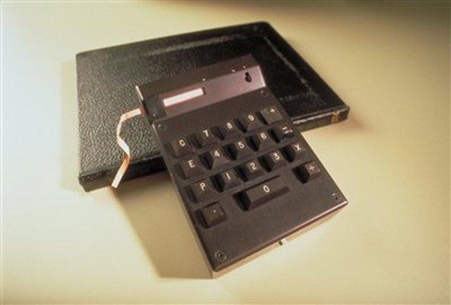 Hand Held Calculator