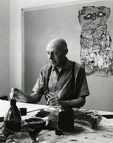 Jean Dubuffet. (1901-1985).