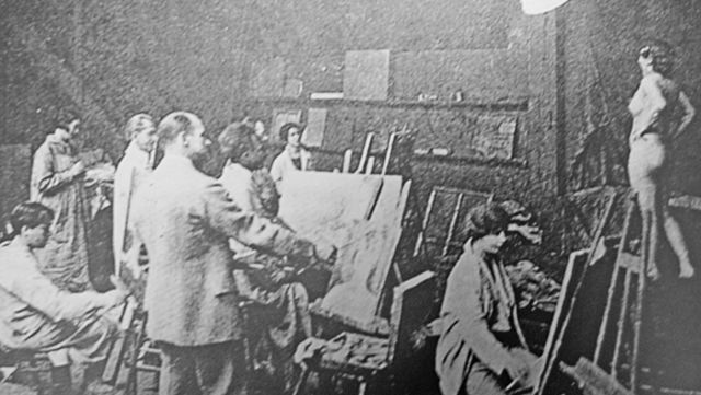 Se funda: La Académie Colarossi.