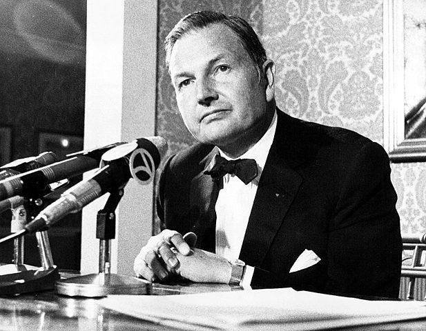 David Rockefeller. (1915-2017).