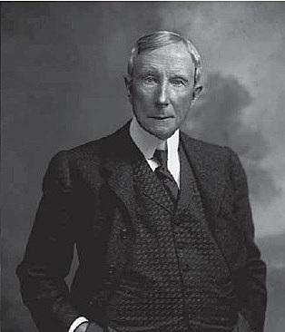 John D. Rockefeller. (1839-1937).