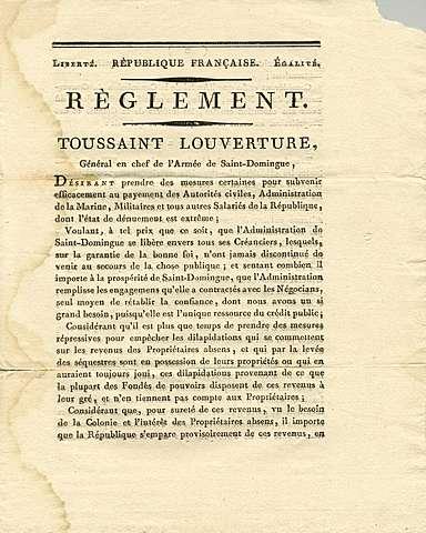 Toussaint's settlement offer