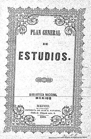 Plan General de Estudios