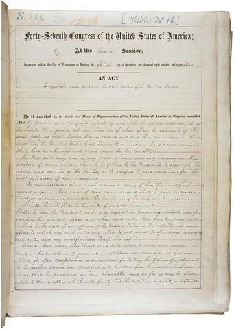 Pedleton Act