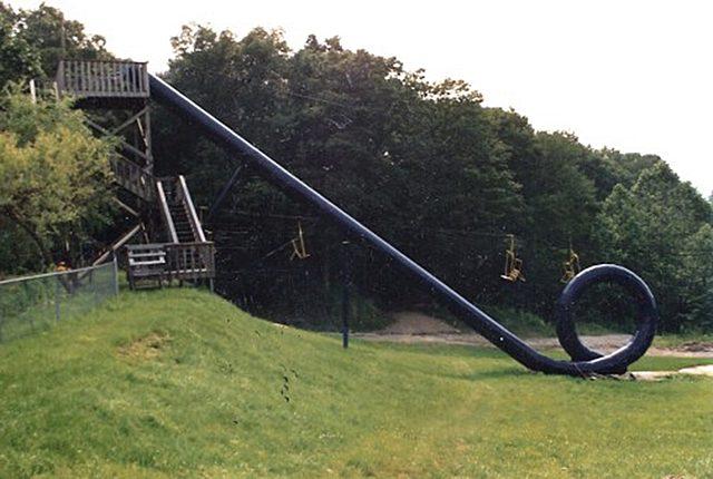 "Action Park åbner med ""The cannonball loop"""