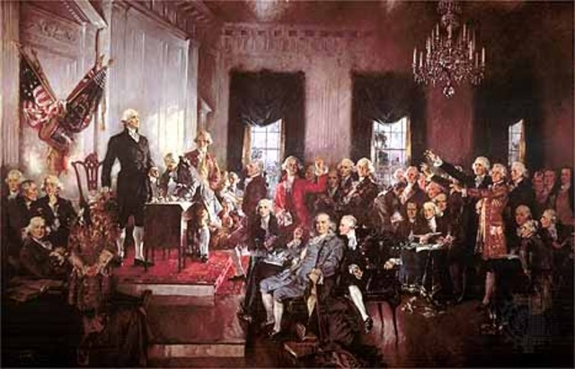 U.S. Constitution Ratified