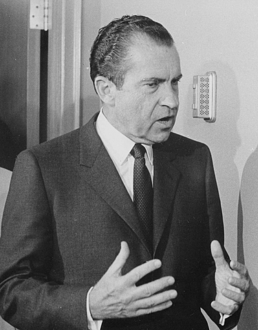 "Nixon Declares ""War on Drugs"""