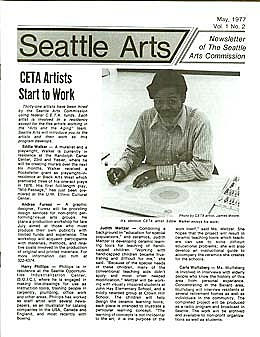 Seattle's 1st Municipal Arts Plan