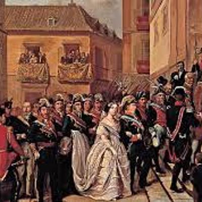 Revolución liberal en el reinado de Isabel II. Carlismo y guerra civil. Construcción y evolución del Estado liberal. timeline
