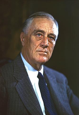 Franklin D. Roosevelt. (1882-1945). - 32º Presidente de los Estados Unidos.