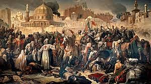 around 1095 a new group of Arabs took control of Jeruselam