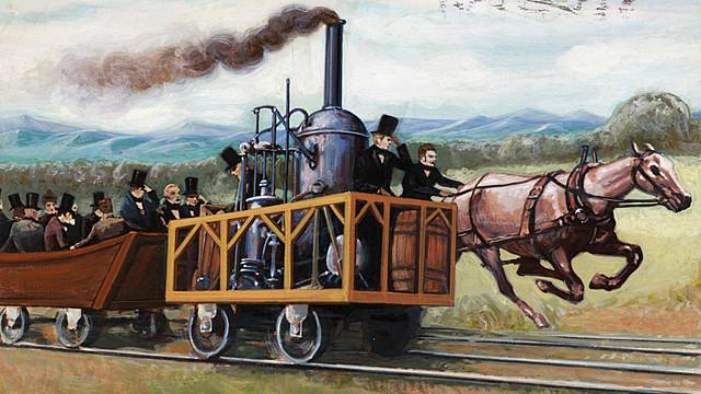 Tomb Thumb vs Iron Horse race Industrial Rev