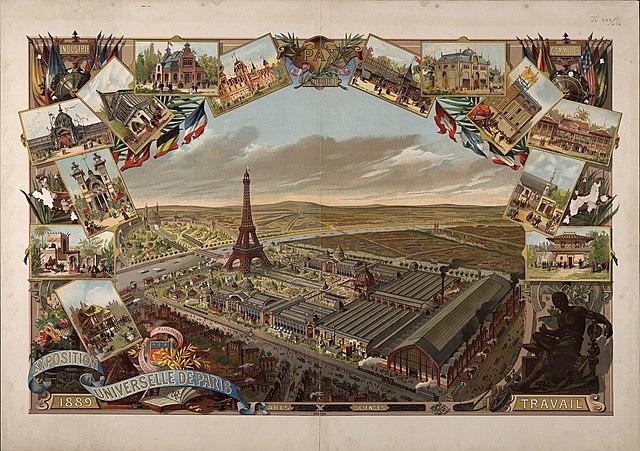 Exposición Universal de París.