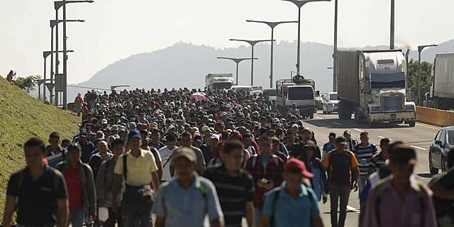 2.000 salvadoreños más se unen a caravanas que buscan llegar a EE. UU.