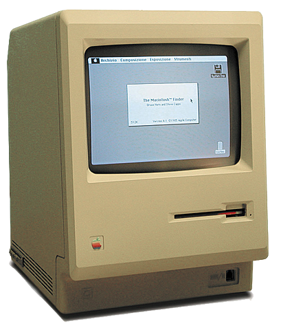 Macintosh 128K.