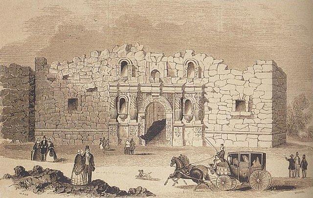 Batalla de El Álamo.