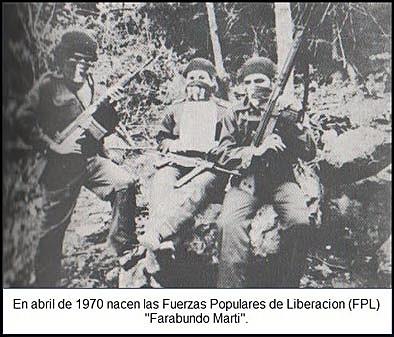 Aparecen grupos o movimientos político militar,( FPL, FAL, EL GRUPO y otros)