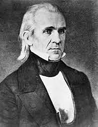 James K. Polk Elected US President (Democrat)