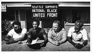 Seattle NBUF Chapter Organizes Against Apartheid