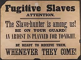 Fugitive Slave Law Passed in Compromise of 1850