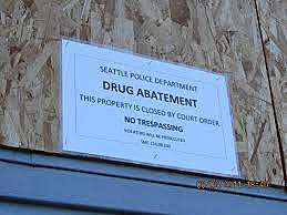 WA Creates Drug Nuisance Abatement Laws