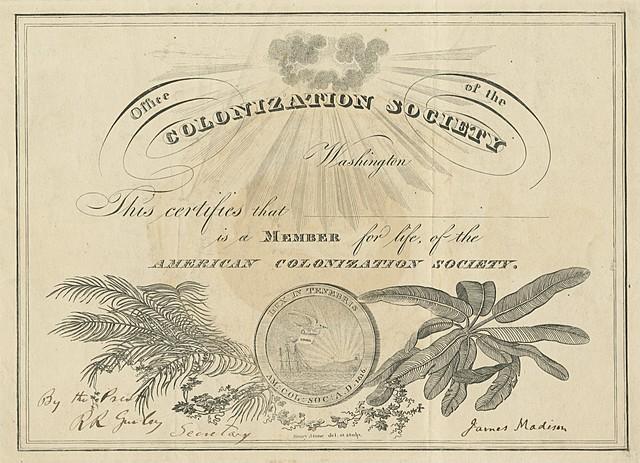 American Colonization Society