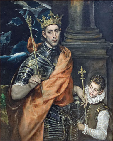 Luis IX de Francia. (1214-1270).