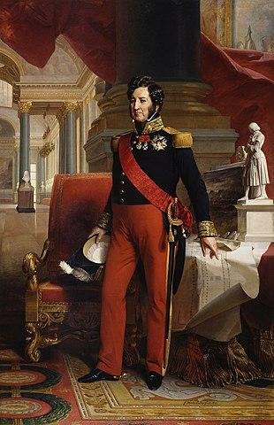 Luis Felipe I de Francia. (1773-1850). - Ultimo Rey Francés.