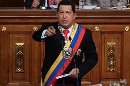 Chávez es elegido presidente