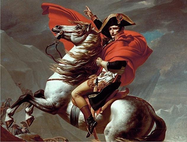 Napoleón Bonaparte. (1769-1821).