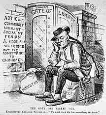 The Chinese Exclusion Act on 1882