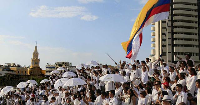 Firma de paz en Cartagena