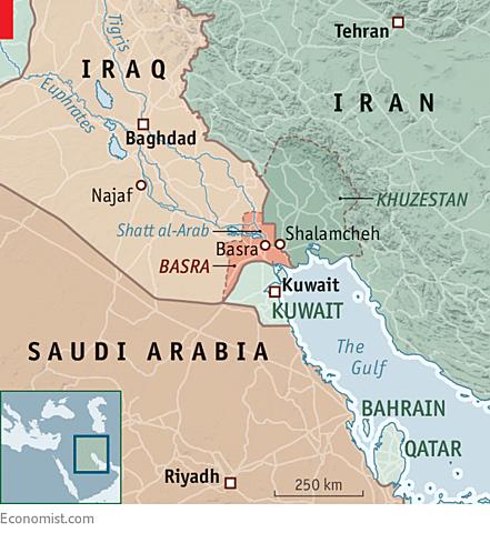 Las fuerzas iraquíes son expulsadas de Arabia Saudita.