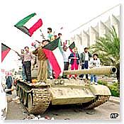 Irak acepta los términos de un alto el fuego del Consejo de Seguridad de la ONU.